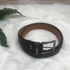 NIKE Golf Black Leather belt. Men's.